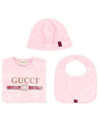 Gucci Vintage three piece baby gift set GUCCI