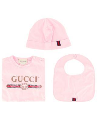 Dreiteiliges Baby-Geschenkset Gucci Vintage GUCCI
