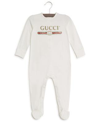 Gucci logo sleepsuit GUCCI