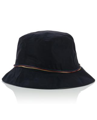Nylon cloche hat with cord GI'N'GI