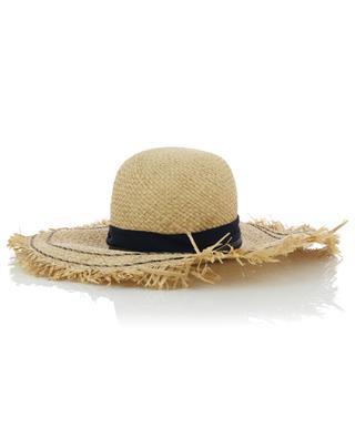 Gefranster Hut aus Raffiabast GI'N'GI