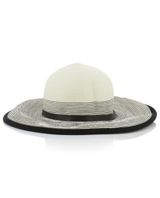 Hat with wide striped brim GI'N'GI