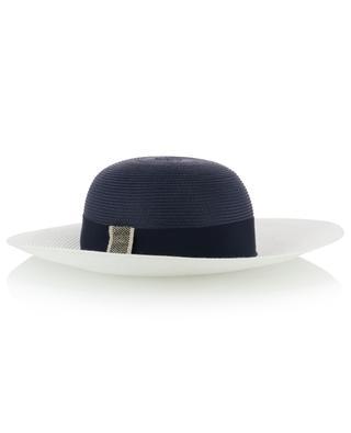 Chapeau bicolore tressé GI'N'GI