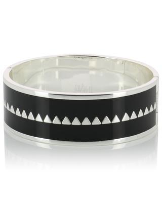 Bracelet émaillé argenté Bollystud BANGLE UP