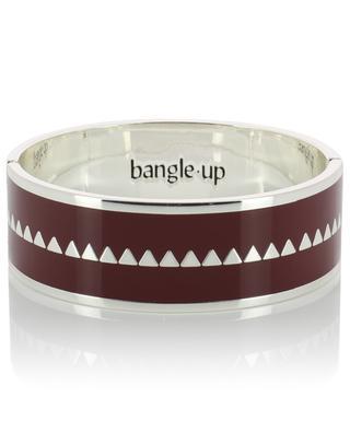 Bollystud enamelled silver bracelet BANGLE UP