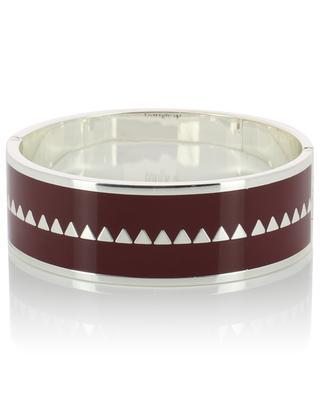 Bracelet argenté émaillé Bollystud BANGLE UP