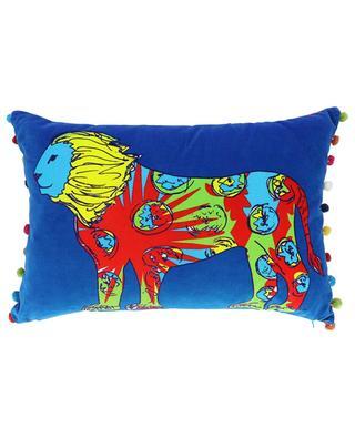 Dandy Lion velvet cushion CORITA ROSE
