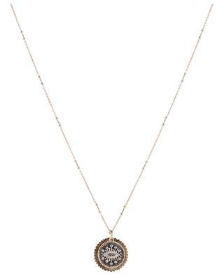 Eternal Vision pink gold necklace KISMET BY MILKA
