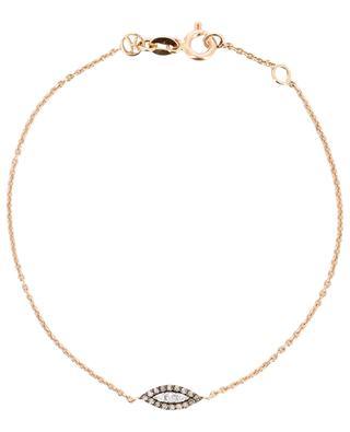 Eye Haven bracelet with diamond pendant KISMET BY MILKA