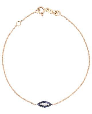 Eye Haven pink gold bracelet KISMET BY MILKA