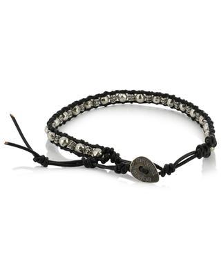 Geflochtenes Armband mit Perlen Charlie Small DASQUE