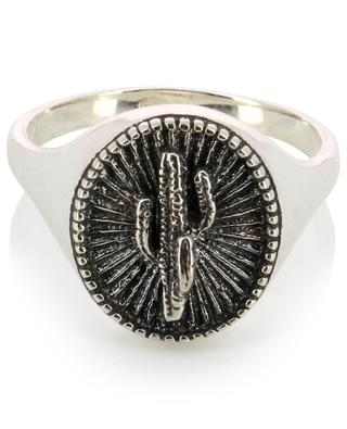 Lenny Bright cactus symbol ring DASQUE