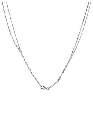 Lenny Bright cactus medaillon necklace DASQUE
