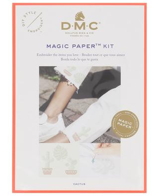 Kit de broderie Magic Paper Cactus DMC