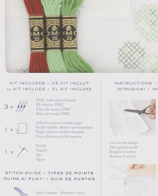 Magic Paper Cactus embroidery kit DMC