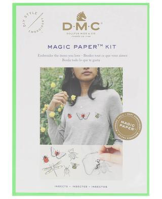 Stickerei-Set Magic Paper Insekten DMC