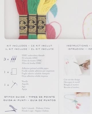 Stickerei-Set Magic Paper Fruits DMC