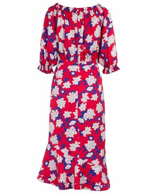 Schulterfreies Meerjungfrauenkleid mit Blüten Grace SALONI