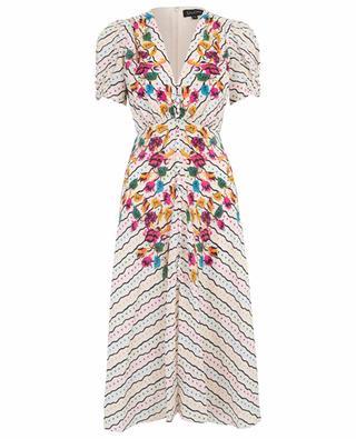 Lea Japonica floral midi dress SALONI