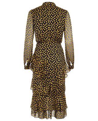 Getupftes Kleid mit Rüschen Isa SALONI