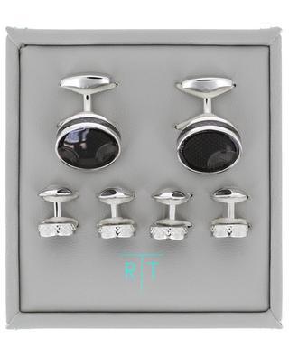 Ensemble boutons de manchette et bijoux Ice TATEOSSIAN LONDON