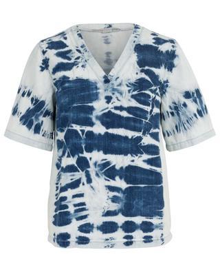 T-shirt en denim effet tie-dye STELLA MCCARTNEY