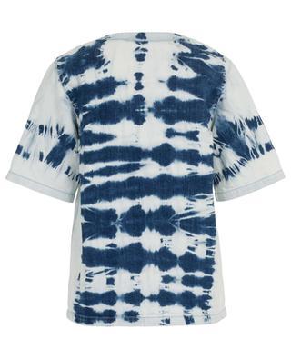 T-Shirt aus Denim in Tie-Dye-Optik STELLA MCCARTNEY