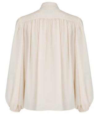 Silk blouse with lace and pussy bow STELLA MCCARTNEY