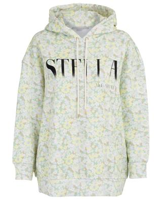 Ditsy floral oversize sweatshirt with logo STELLA MCCARTNEY