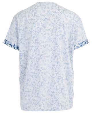 Geblümtes T-Shirt aus Baumwolle STELLA MCCARTNEY