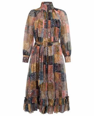 Robe midi patchwork Ninety-Six ZIMMERMANN