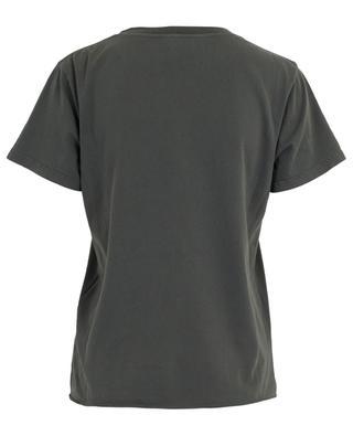 YSL printed cotton T-shirt SAINT LAURENT PARIS