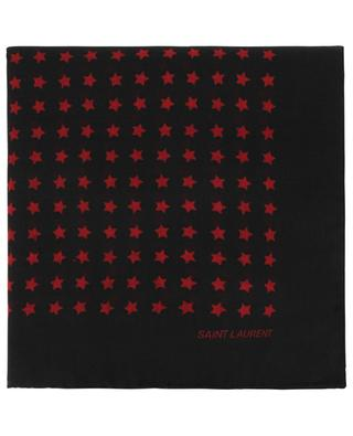 Foulard en laine Étoiles Scandale SAINT LAURENT PARIS