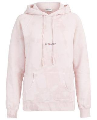 Sweatshirt in Tie-Dye-Optik Saint Laurent Rive Gauche SAINT LAURENT PARIS