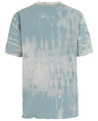 SL Rive Gauche logo print tie & dye T-shirt SAINT LAURENT PARIS