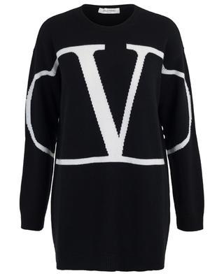 Go Logo long cashmere jumper VALENTINO