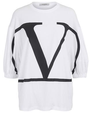 T-shirt large avec manches bouffantes Go Logo VALENTINO