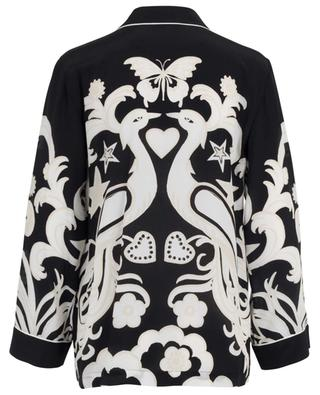 Seidenhemd im Pyjama-Look Phoenix VALENTINO