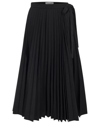 Cotton blend pleated skirt VALENTINO
