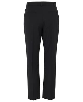 Virgin wool blend straight trousers VALENTINO