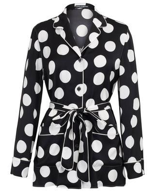 Hemd im Pyjama-Stil mit Tupfen DOLCE & GABBANA