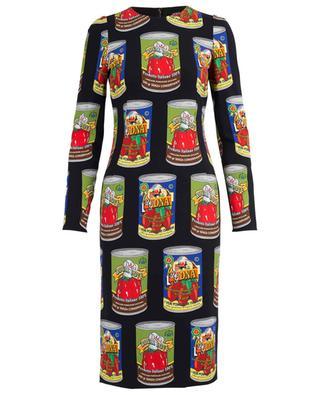 Tin print sheath dress DOLCE & GABBANA