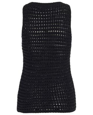 Sparkling sleeveless jumper ERMANO SCERVINO