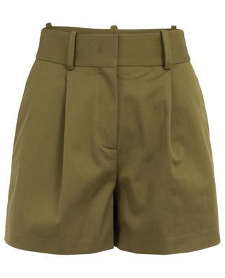 Short esprit jupe-culotte en sergé de coton ERMANO SCERVINO