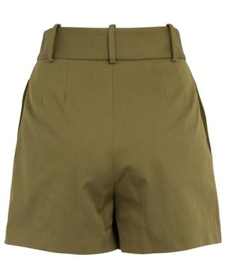 Shorts im Hosenrock-Stil aus Baumwoll-Twill ERMANNO SCERVINO