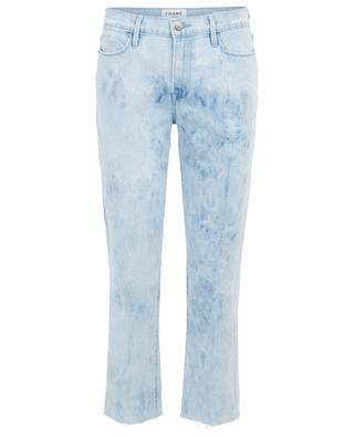 Jeans in Tie-Dye-Optik Le High Straight Cloud FRAME