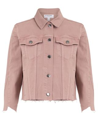 Jeansjacke Le Jacket Triangle Gusset Dusty Rose FRAME