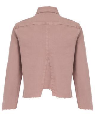 Veste en jean Le Jacket Triangle Gusset Dusty Rose FRAME