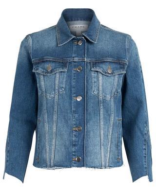 Le Jacket Triangle Gusset denim jacket FRAME