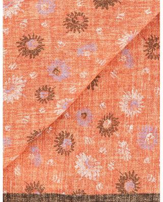 Schal mit Blüten und Hahnentritt Pianosa 22 ROSI COLLECTION